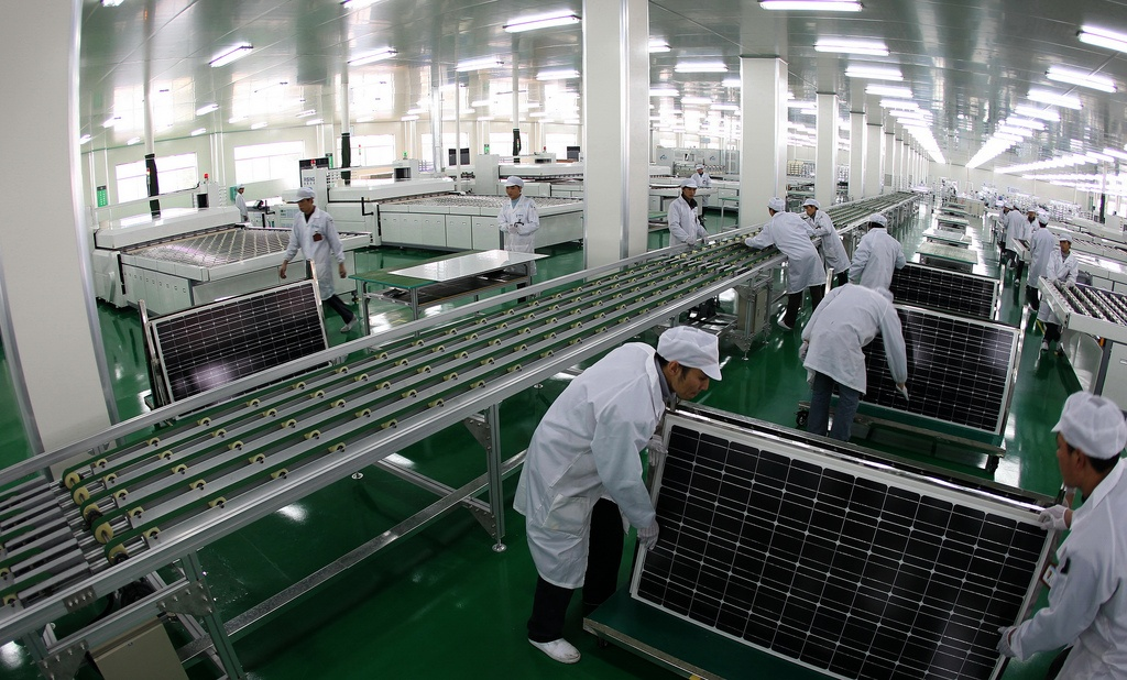 Solar Cell Factory, solar energy, green energy