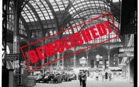 Original Penn Station, lost NYC landmarks, McKim Mead & White, Penn Station waiting room