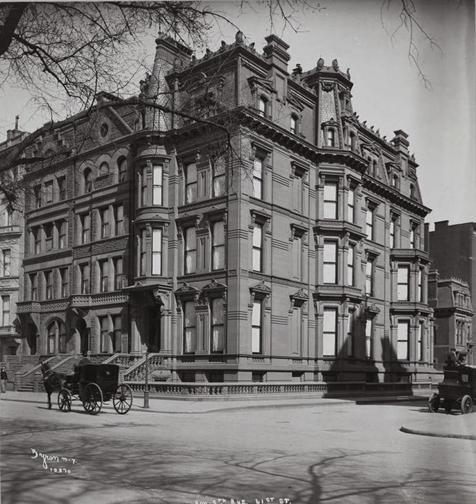 A guide to the gilded age mansions of 5th avenue 39 s for 123 william street 2nd floor new york ny 10038