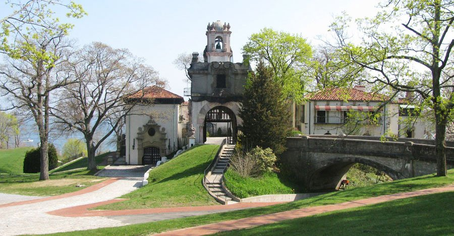 The Vanderbilt Museum, formerly a mansion in Long Island