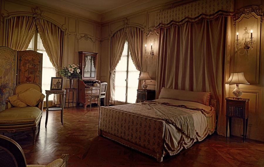 A bedroom inside the Vanderbilt Museum