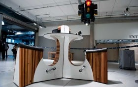 wewatt, cycling desk, biking desk, standing desk, charging station, iphone charger
