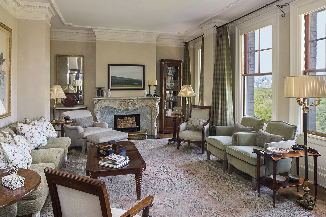philanthropists joe and carol reich sell central park west condo for