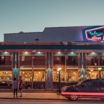 Franck Bohbot, Manhattan Bridge, urban photography, nighttime photography, Kellogg's Diner, Kellogg's Diner williamsburg, Kellogg's Diner brooklyn