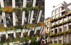 Flowerbox Building, Living Wall, Vertical Garden, Landscape Architecture, NYC condo