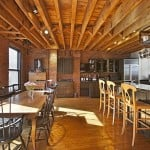 155 Duane Street, townhouse with five-story atrium, live/workspace in Tribeca