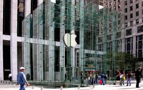 Apple Cube, Apple Store