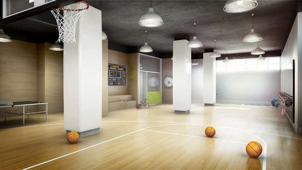200 East 79th Street, Basketball court