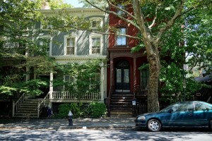 Wallabout, Fort Greene, historic homes, wood frame house, Vanderbilt Avenue