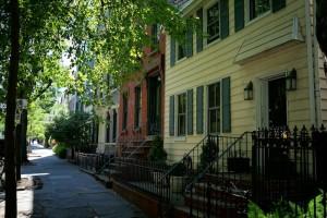 Wallabout, Fort Greene, historic homes, wood frame house, Vanderbilt Avenue
