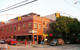 columbia street brooklyn, columbia street waterfront district, red hook brooklyn