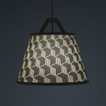 Fifti-fifti, Take-off Light, customizable lamp, paper lamp, pattern design, German design,