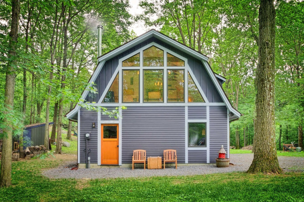 Hudson design 39 s rustic writer 39 s studio barn is a converted for 2 story barn house