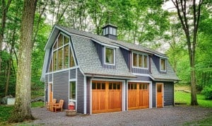 Writer's Studio Barn, Hudson Design Architecture, Garrison NY