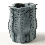 Floris Wubben, textured vases, Pressed Objects, epoxy resin, DIY press machine, Dutch design