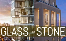 glas and stone nyc buildings, stone nyc buildings, glas nyc buildings