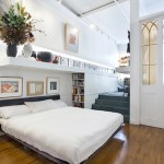 85 Mercer Street, Soho Cast Iron Historic District, original tin ceilings, lofted bedroom
