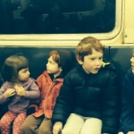 city kids, subway, NYC,