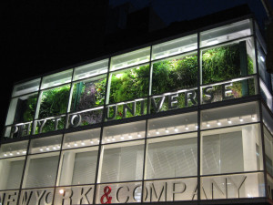 Green Wall, Living Wall, Patrick Blanc, Phyto Universe, Landscape Architecture