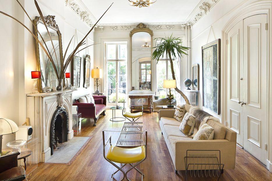 truly exquisite west village rental with historic details. Black Bedroom Furniture Sets. Home Design Ideas