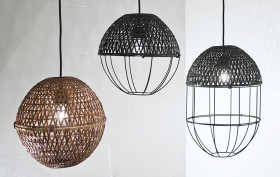Ljung & Ljung, Bamboo Lights, Scadinavian design, Thai bamboo, bamboo craft, Sop Moei Arts