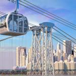 east river skyway, gondolas, nyc gondolas, roosevelt, dan levy, city realty, nyc gondolas, east river skyway dan levy