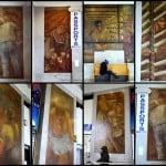Ben Shahn Murals, Interior Bronx General Post Office