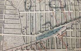 1811 Commissioner's Map of Manhattan, commissioner's map of nyc, 1811 map of nyc