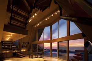 A-Frame Re-Think, Bromley Caldari Architects, Fire Island beach house