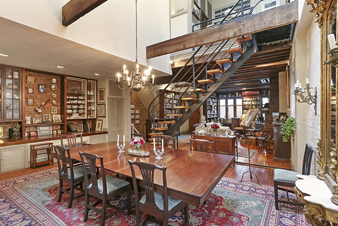 Converted Cobble Hill Firehouse With Magical Secret Garden