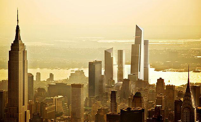 Hudson Yards, Hudson Yards related companies, major nyc developments