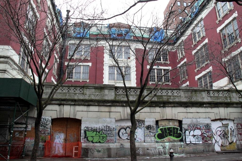 Development dispute over P.S. 64 in the East Village continues, two decades later
