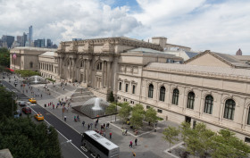 koch plaza metropolitan museum of art. koch plaza, koch plaza dedication