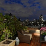 1185 Park Avenue, indoor/outdoor living, rooftop terrace, sky room