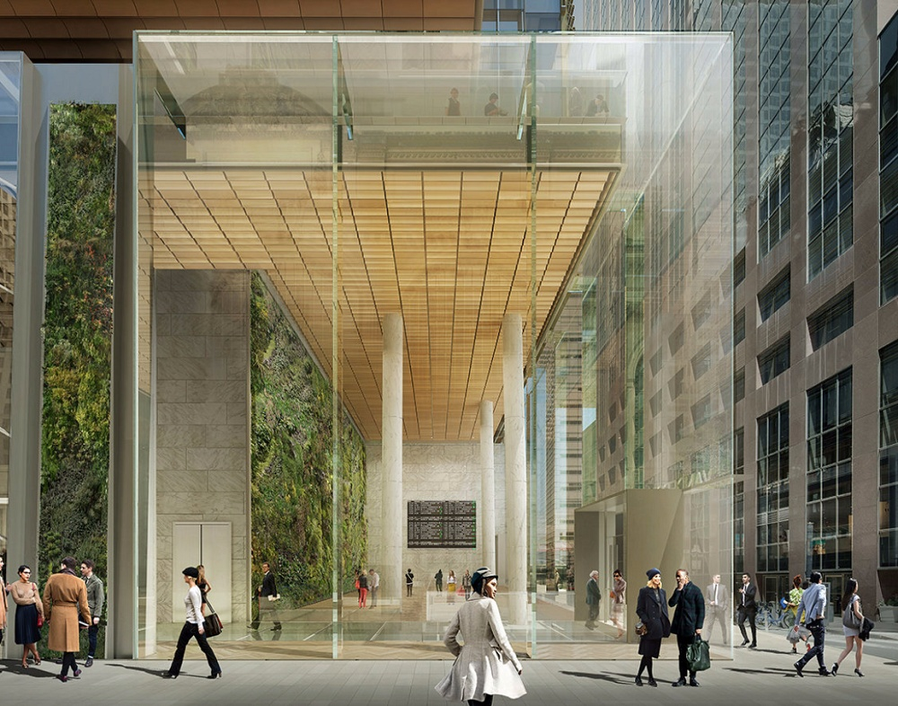 Kohn Pedersen Fox, One Vanderbilt Transit Hall