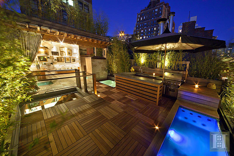221 West 13th Street, rooftop terrace, infinity pool,