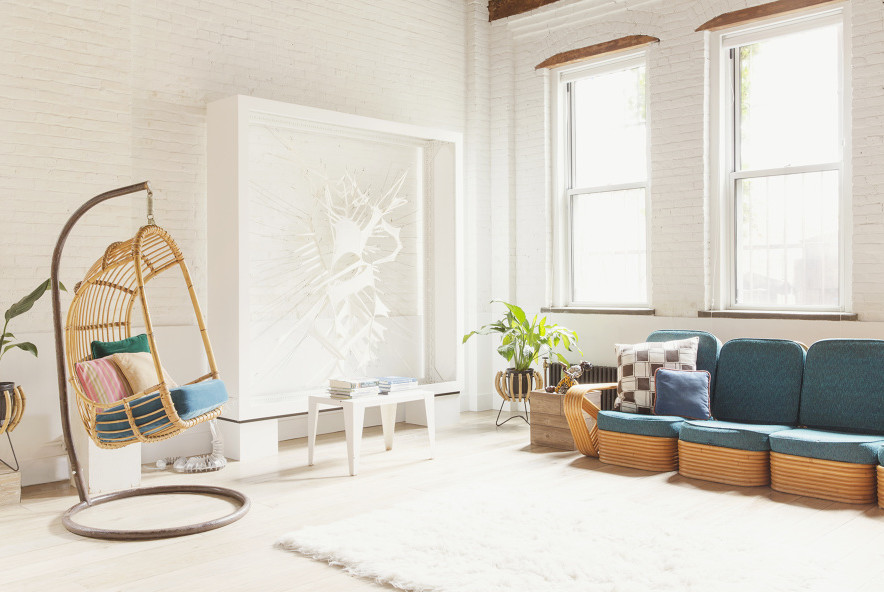 Williamsburg Loft, Interiors, Loft living, Elizabeth Roberts, Ensemble Architecture, live/work