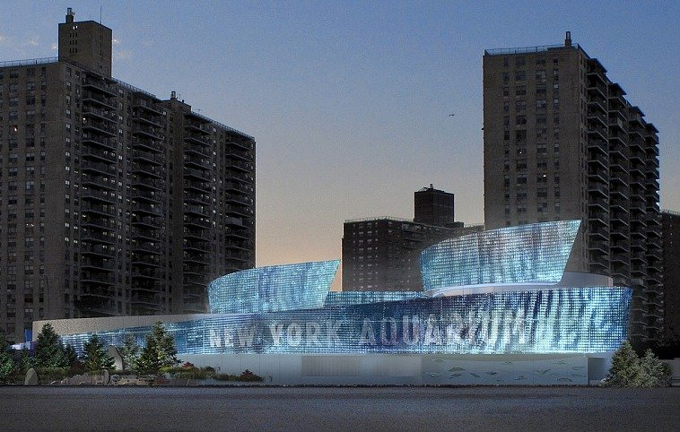 New York Aquarium, Coney Island, Wildlife Conservation Society, Sue Chin AIA