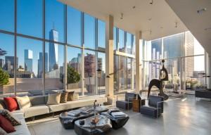 Sky Lofts, Sky Lofts Penthouse, 145 Hudson Street, James Carpenter