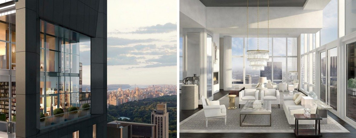 Baccarat Hotel & Residences, Baccarat Penthouse, NYC penthouses, 20 West 53rd Street
