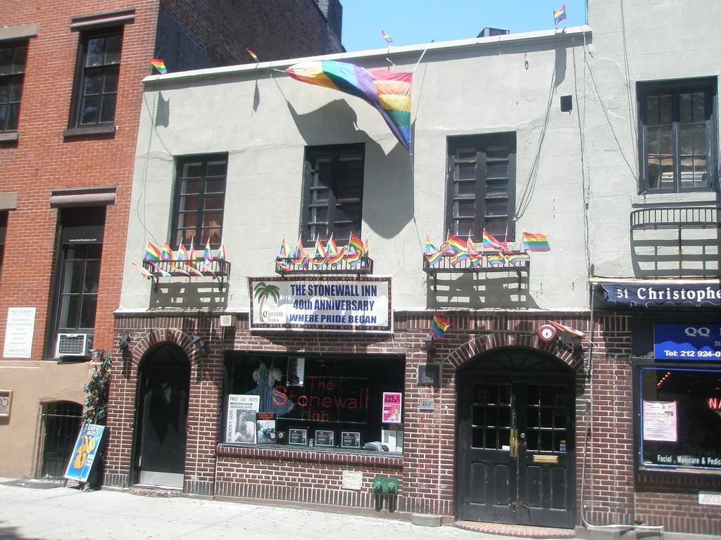 Stonewall Inn, Christopher Street, LGBT history
