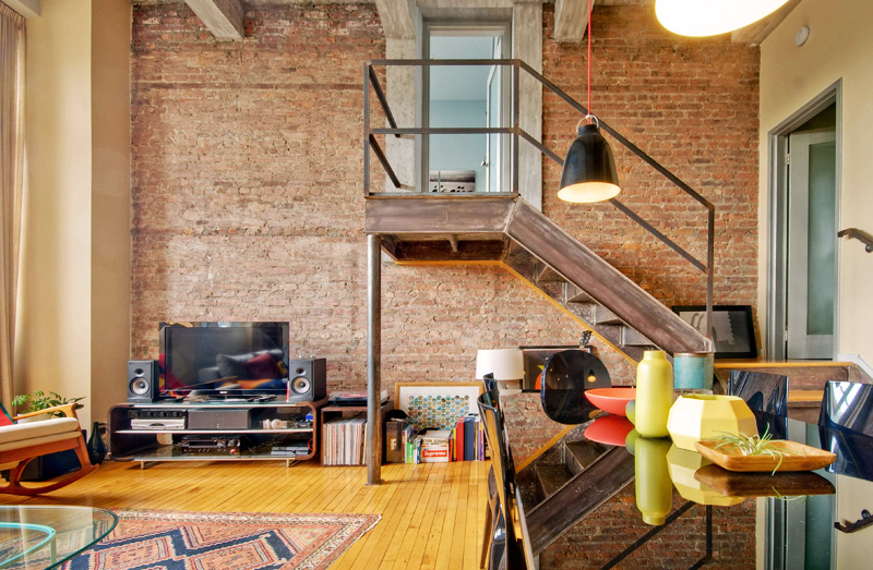 This Cobble Hill Apartment with Lofted Bedroom is a True Brooklyn