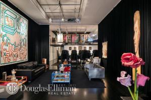 live-work loft soho, gallery style loft soho, art dealer loft for sale