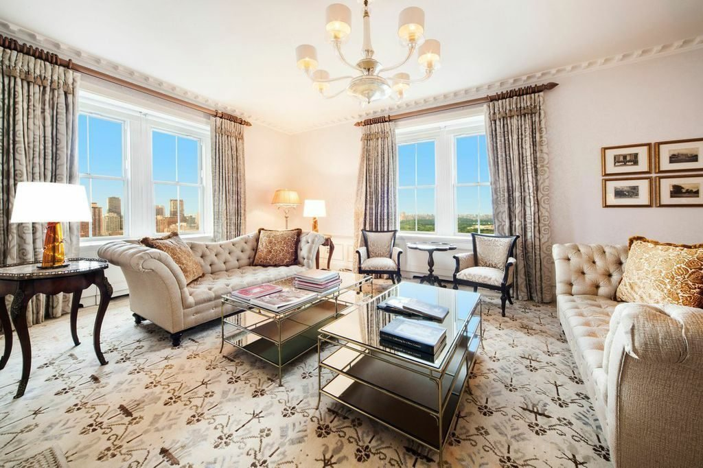 the city s priciest rental is a 500 000 month suite at the pierre