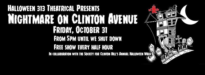 nightmare on clinton avenue brooklyn halloween 313, nightmare on clinton avenue brooklyn, halloween 313