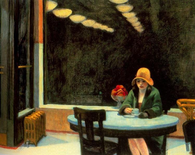 Edward Hopper, Automat,