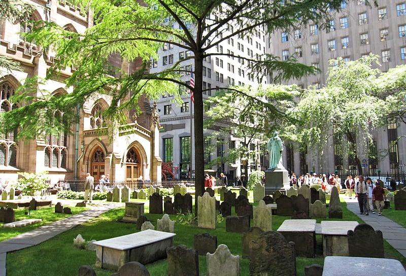 Trinity Church Cemetery NYC