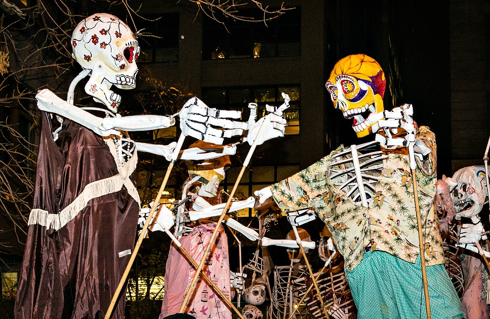 A history of the Village Halloween Parade: Puppets, performers, and NYC pride