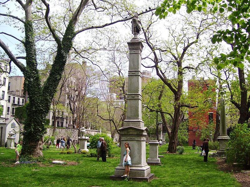 52-74 Second Street new york marble cemetery