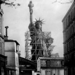 statue of liberty under construction, statue of liberty historic